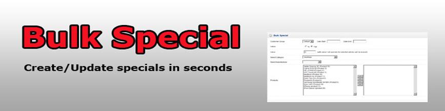 Bulk Special